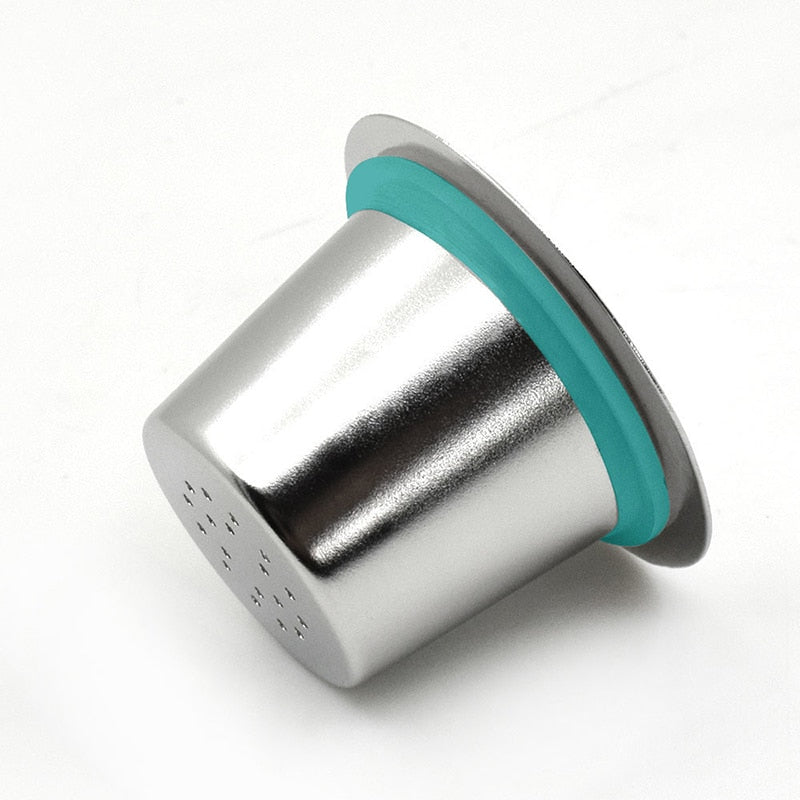Stainless Steel Refillable Coffee Capsule for Nespresso Coffee Machine - Earth Ark Boutique