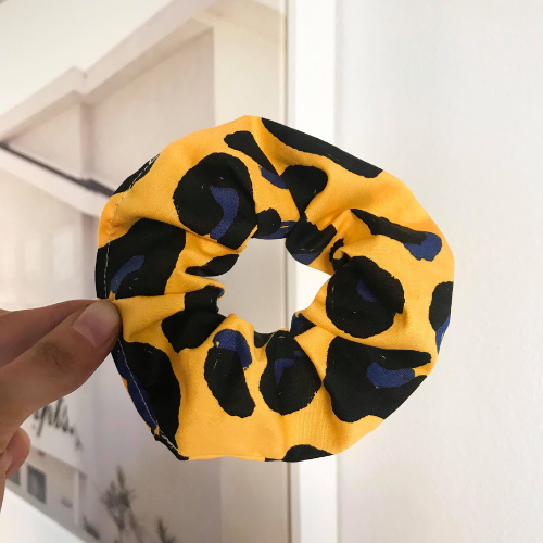 Just Another Leopard Scrunchie