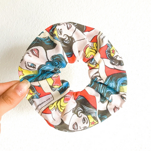 Wonder women scrunchie