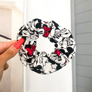 Minnie & Mickey Scrunchie