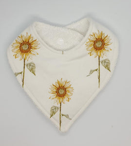 Bandana Bib - Sunflower