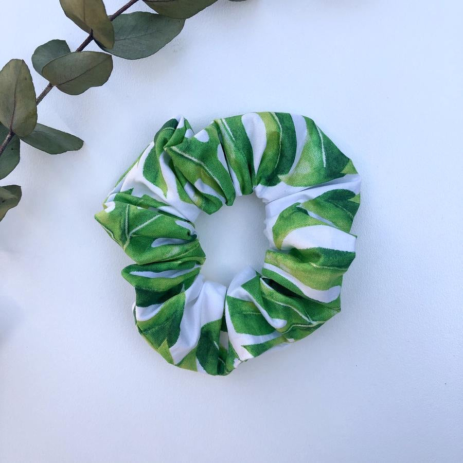 Palms scrunchie