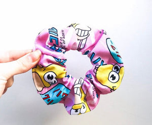 Mr. Sparkle simpsons scrunchie
