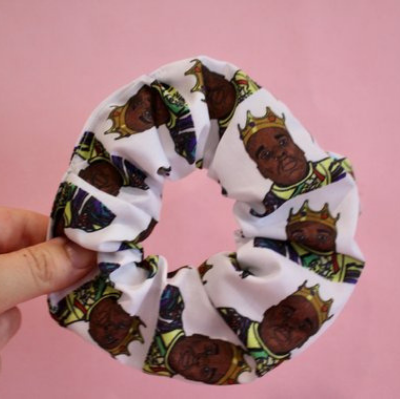 The notorious B.I.G scrunchie