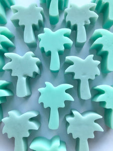Mini palm trees soaps - Pack of 5