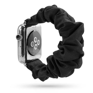 Black Scrunchie Apple Watch Band
