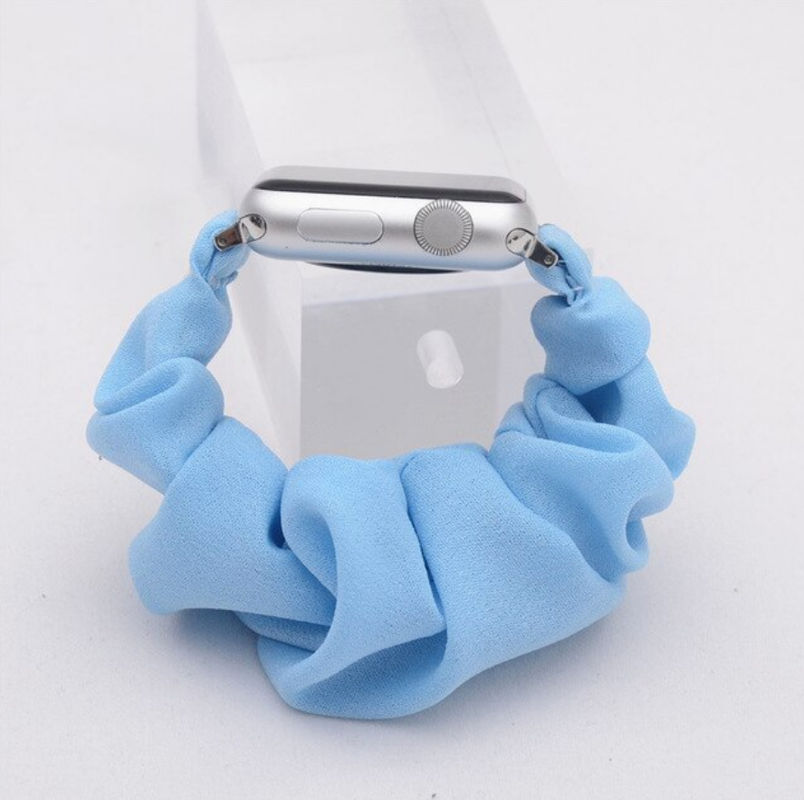 Ocean Scrunchie Apple Watch Band