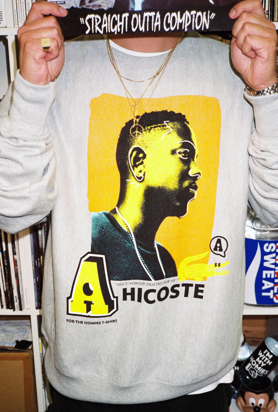 HICOSTE Crew Sweat