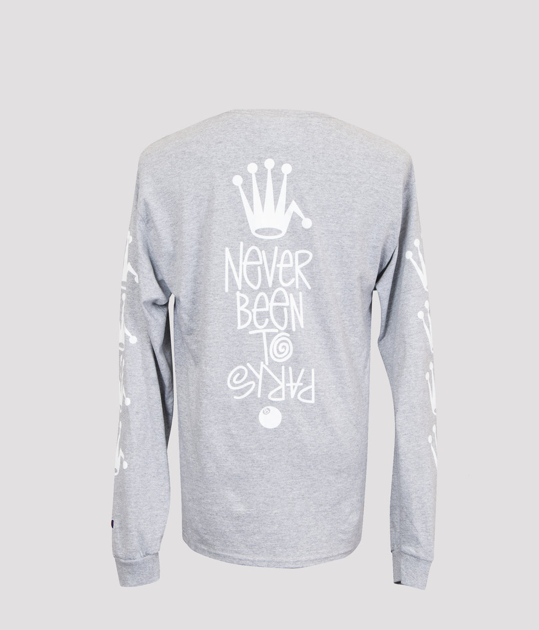 NEVER BEEN TO PARIS Longsleeve t-shirt