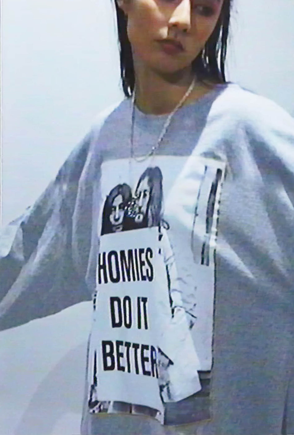 HOMIES DO IT BETTER Longsleeve t-shirt