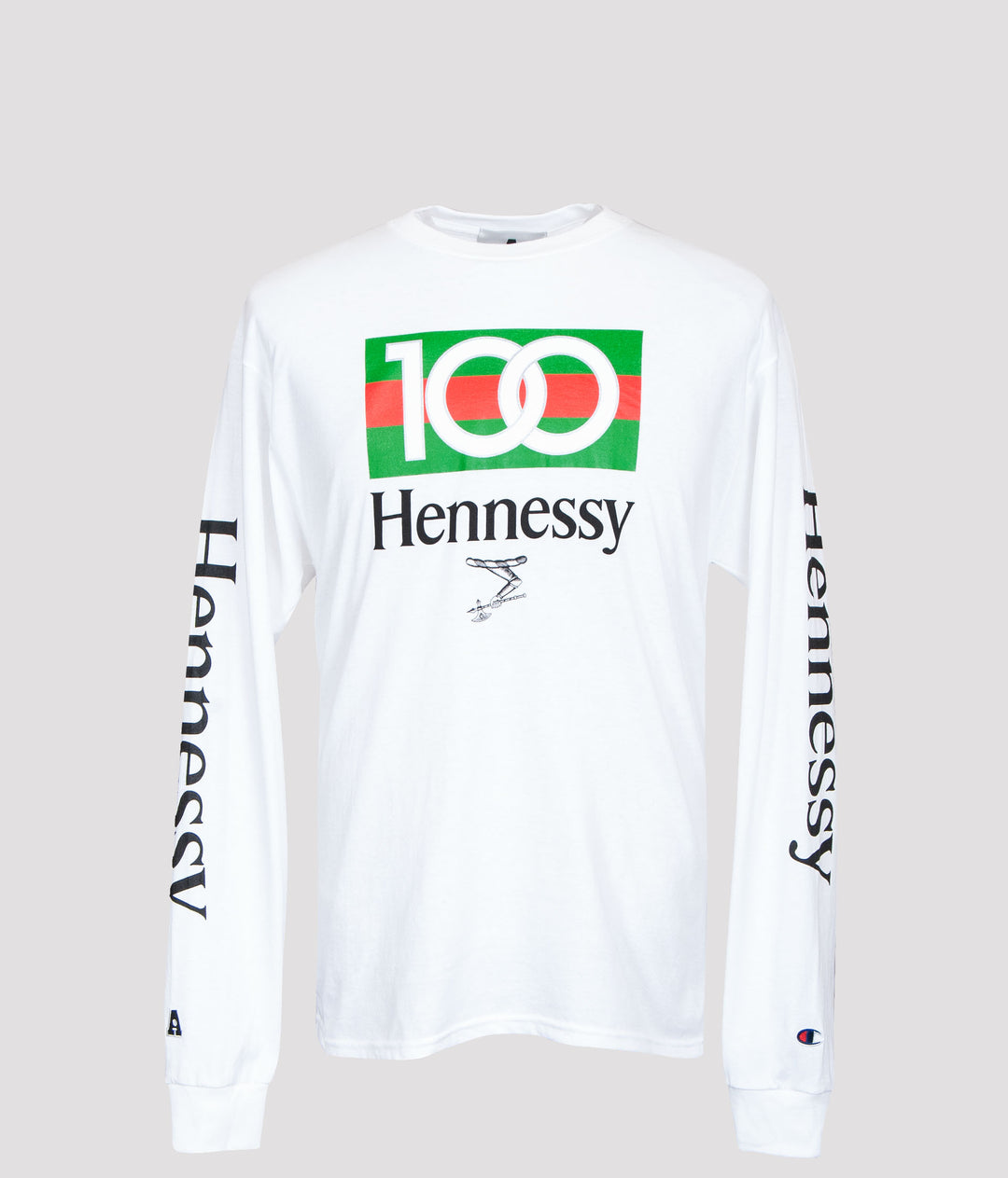 ONE HUNDRED Longsleeve t-shirt