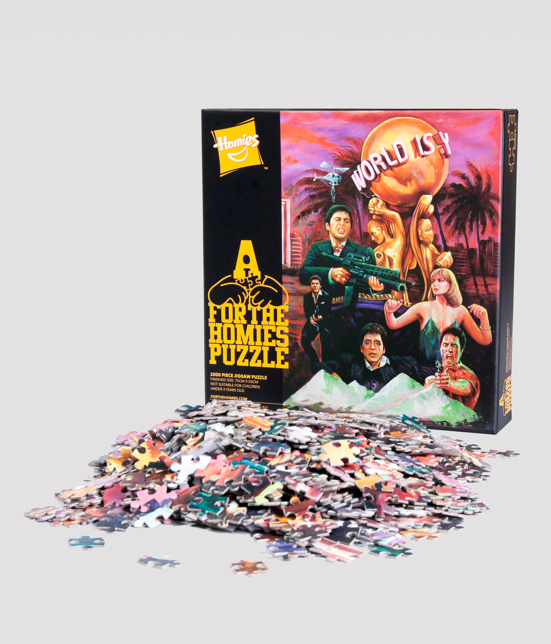 SCARFACE JIGSAW PUZZLE