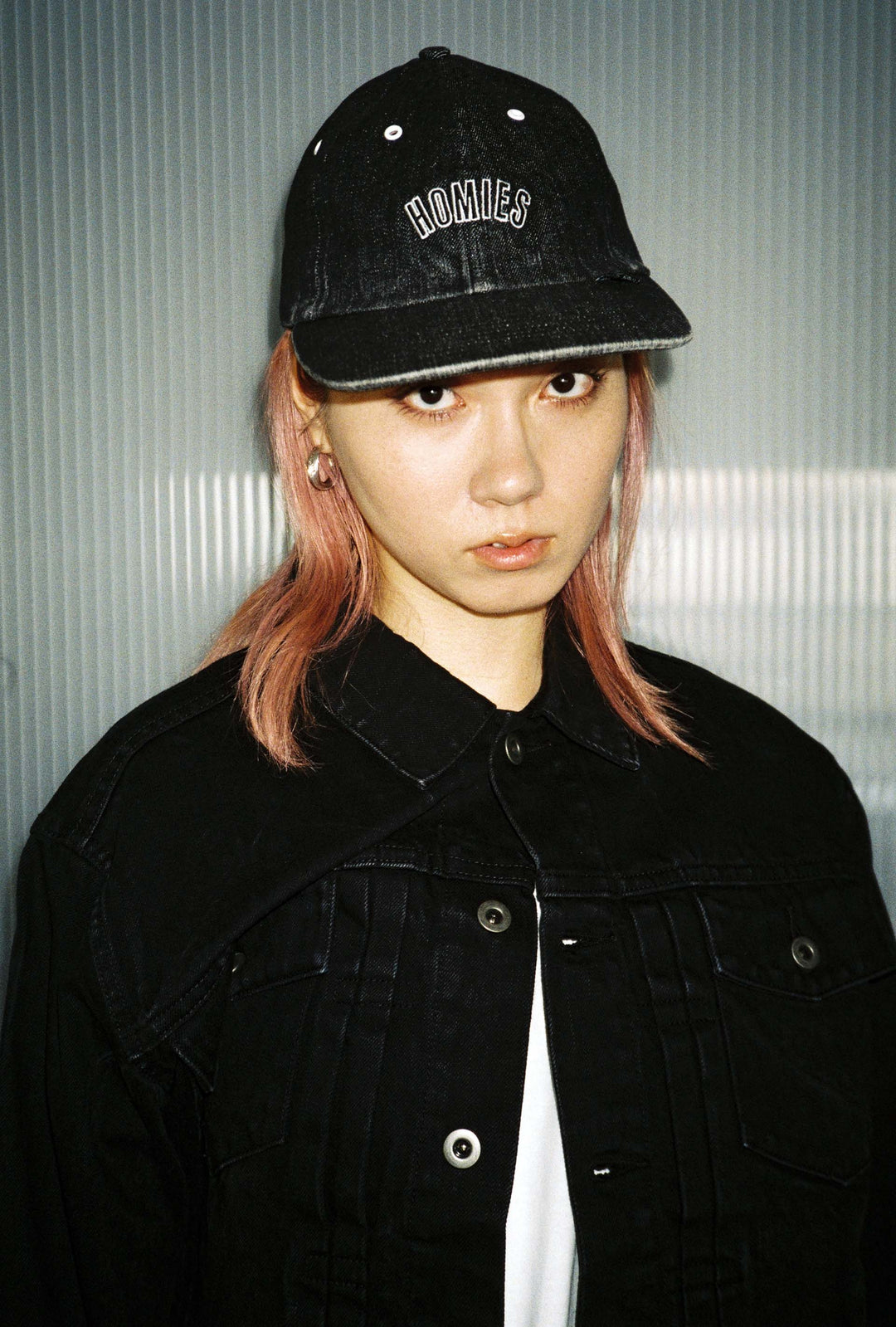 DENIM POLO CAP
