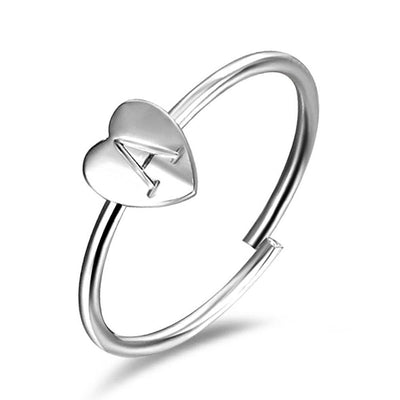 The Peaceful Heart - Initial Ring