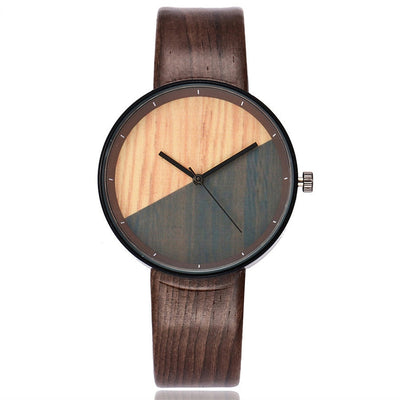 WOODLAND POINT - LUXURY WOODEN QUARTZ WRIST WATCH