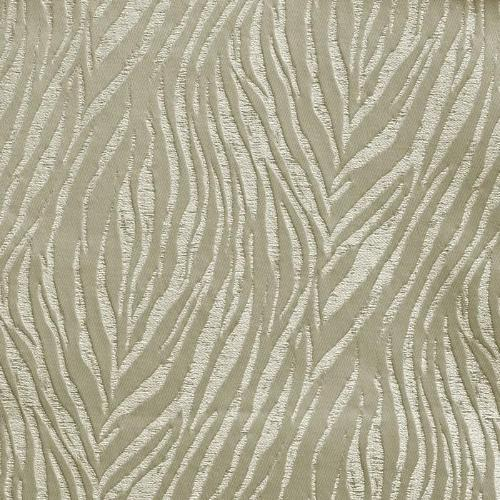 Tiger curtain fabric in ivory