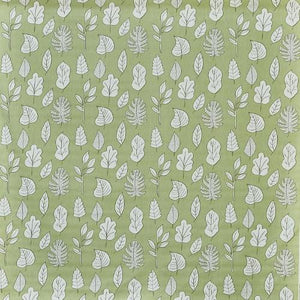 Biscayne curtain fabric in palm