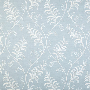 Albery curtain fabric in chambray