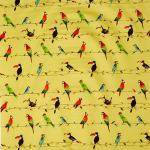 Prestigious Textiles Toucan Talk Curtain Fabric | Zest