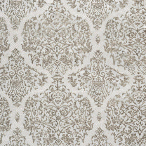 Amaya curtain fabric in Dove by Kai