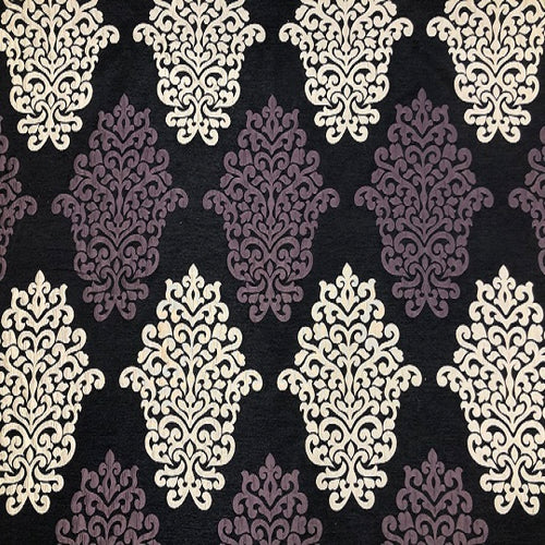Ashley Wilde Arkara Curtain Fabric | Purple