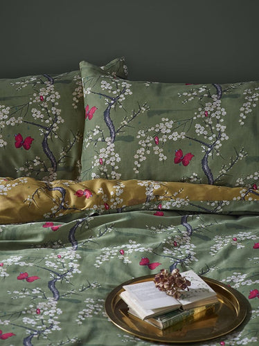 Blossom & Butterfly Basil Bedding Set | The Chateau
