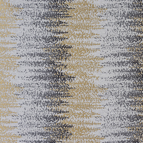 Byron curtain fabric in ochre