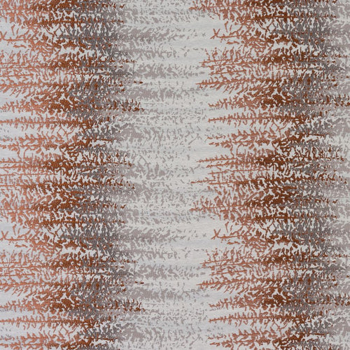 Fryetts Byron Curtain Fabric | Terracotta - Designer Curtain & Blinds