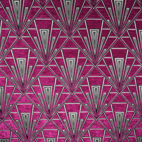 Gatsby curtain fabric in Tiffany by Fibre Naturelle