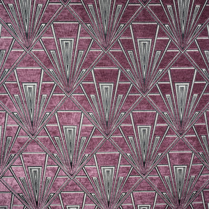 Gatsby curtain fabric in Mackintosh by Fibre Naturelle
