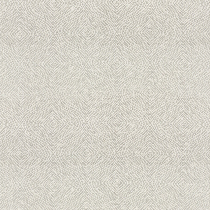 Piazza curtain fabric in White Mist by Fibre Naturelle