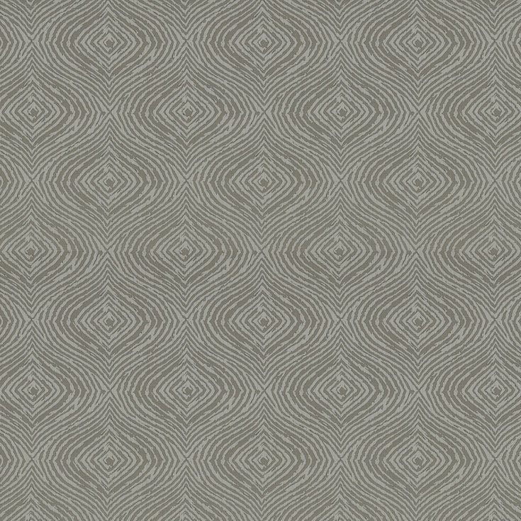 Fibre Naturelle Piazza Curtain Fabric | Charcoal Drift - Designer Curtain & Blinds