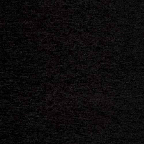 Kensington curtain fabric in black