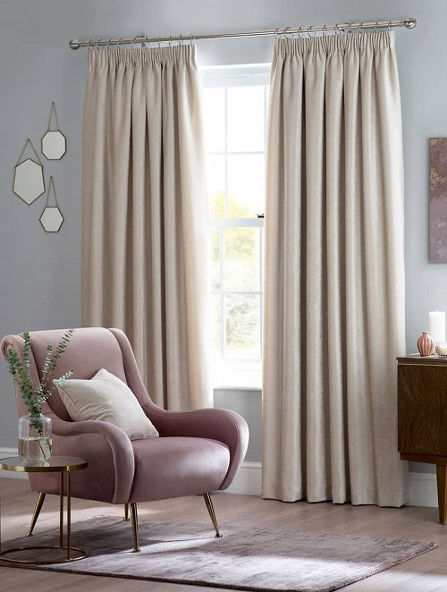 Belfield Design Studio Langley Ready Made Curtains | Cream