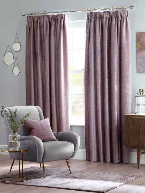 Belfield Design Studio Langley Ready Made Curtains | Heather