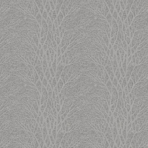 Linford curtain fabric in Classic Grey by Fibre Naturelle