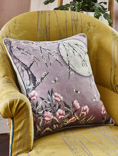 Moonlight Rose Dawn Cushion | The Chateau