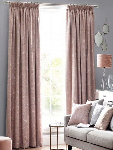 Belfield Design Studio Metro Ready Made Curtains | Blush