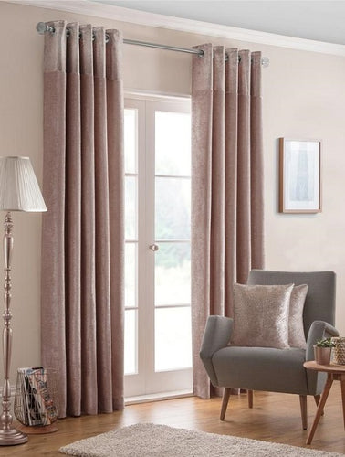 Belfield Design Studio Nova Ready Made Curtains | Blush