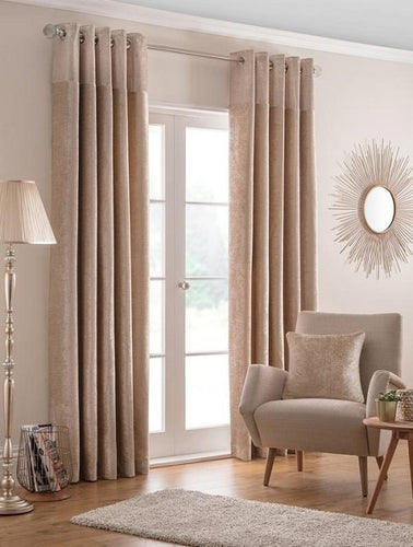 Belfield Design Studio Nova Ready Made Curtains | Champagne