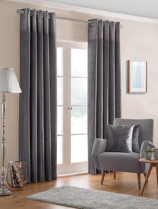 Belfield Design Studio Nova Ready Made Curtains | Pewter
