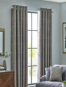 Belfield Design Studio Orion Ready Made Curtains | Zinc