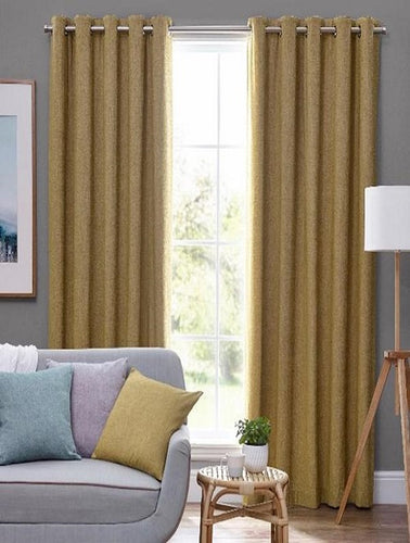 Belfield Design Studio Orkney Ready Made Curtains | Ochre