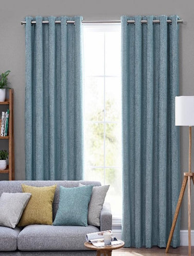 Belfield Design Studio Orkney Ready Made Curtains | Sea Mist