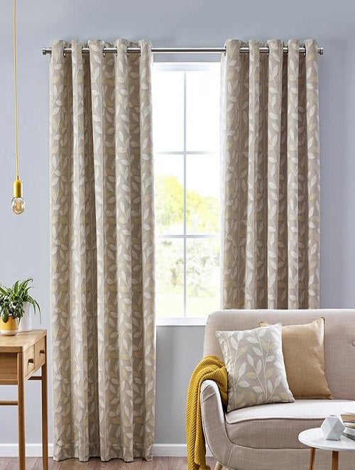 Belfield Design Studio Pippa Ready Made Curtains | Ochre