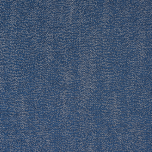 Fryetts Shelley Curtain Fabric | China Blue - Designer Curtain & Blinds