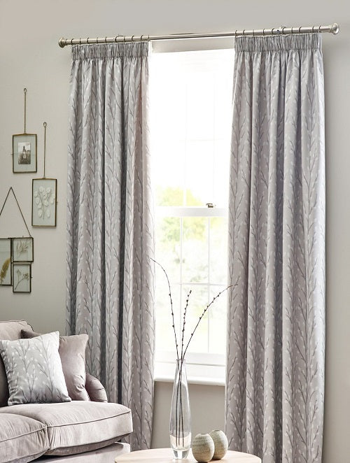 Belfield Design Studio Sienna Ready Made Curtains | Dove Grey