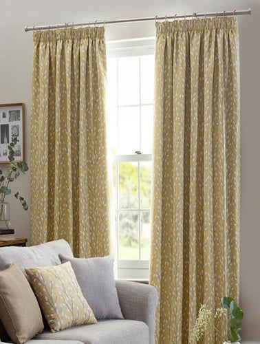 Belfield Design Studio Sienna Ready Made Curtains | Ochre
