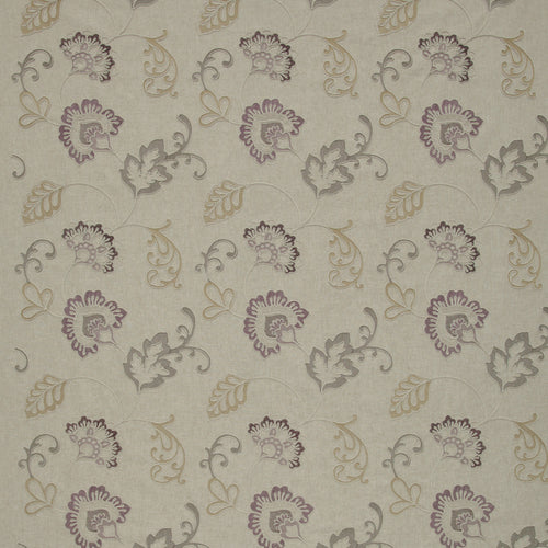 iLiv Alderney Curtain Fabric | Grape - Designer Curtain & Blinds