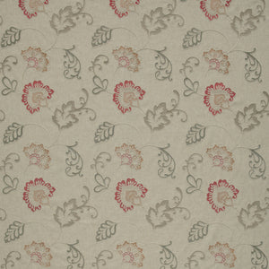 iLiv Alderney Curtain Fabric | Ruby - Designer Curtain & Blinds